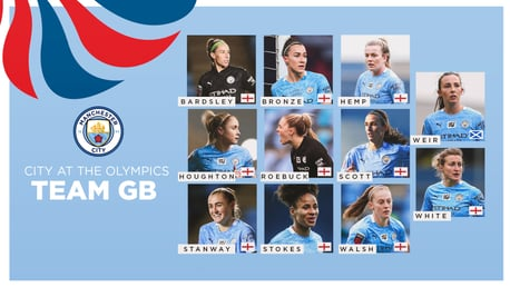 Eleven City stars named in Team GB's women's football squad