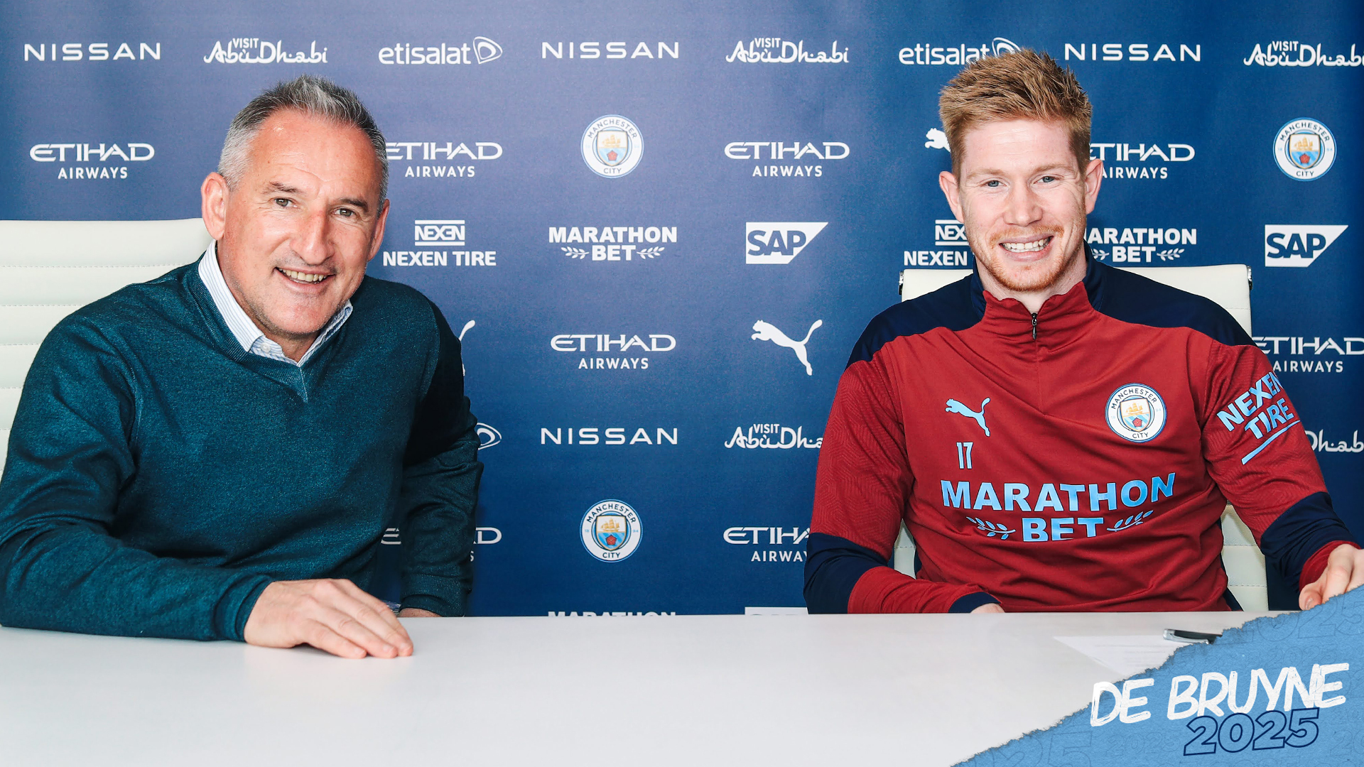 De Bruyne extends the city contract until 2025