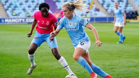 Women's FA Cup brief highlights: City 5-1 West Ham