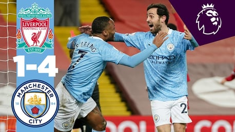 Liverpool 1-4 City: en bref