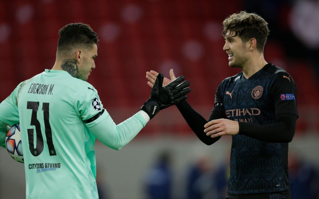 Ederson: Stones has a huge heart