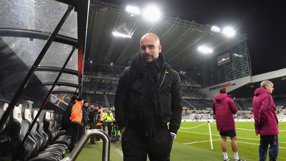 DI ST. JAMES : City meraih rekor kemenangan Liga Primer ke-18 berturut-turut pada Desember 2017 berkat kemenangan 1-0 atas Newcastle United.