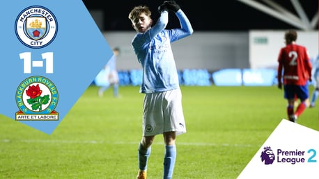 City EDS 1-1 Blackburn: Full-match replay