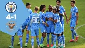 City 4-1 Blackpool: Full match replay