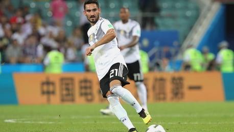Ilkay Gundogan inscrit un doublé avec l'Allemagne