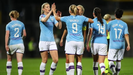 DYNAMIC DUO: Steph Houghton and Pauline Bremer have been recognised for their superb Septembers
