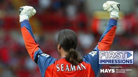 David Seaman: In Safe Hands