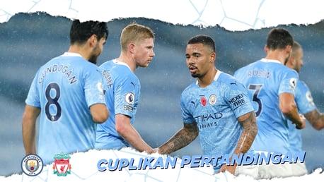 City 1-1 Liverpool: Cuplikan Pertandingan