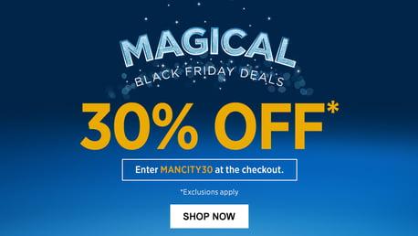 맨체스터 시티의 블랙프라이데이 30% 할인!