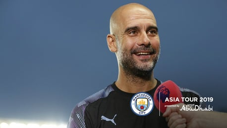Pep targets early silverware for City
