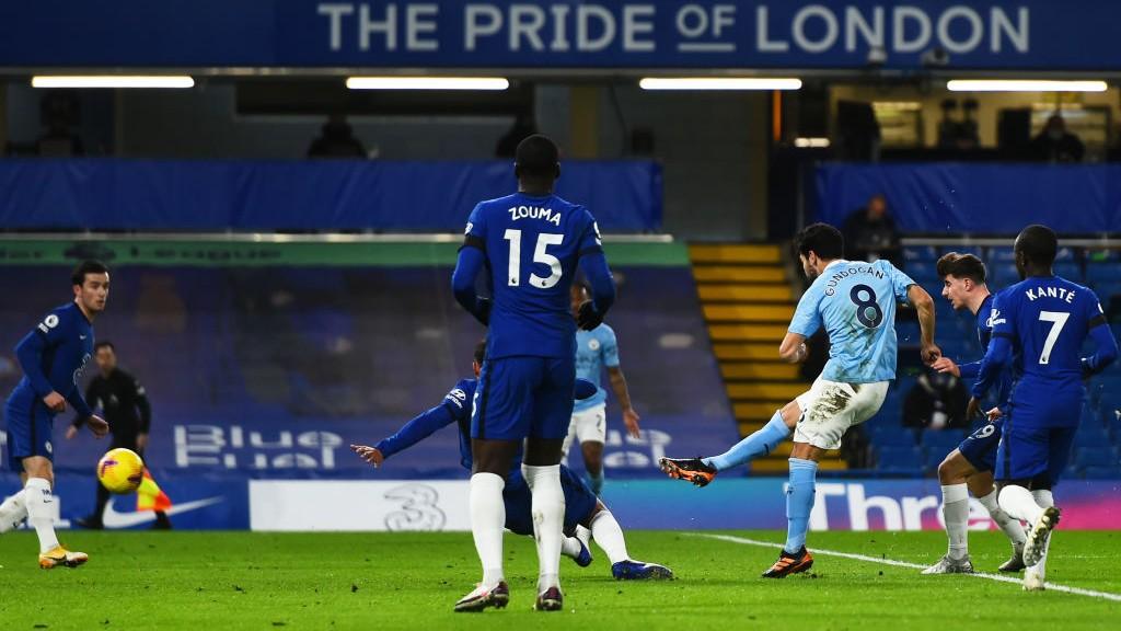 EXCELSO. : Gündogan abrió el marcador y firmó una actuación fantástica en Stamford Bridge.