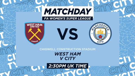 West Ham v Man City: WSL LIVE MATCH Updates