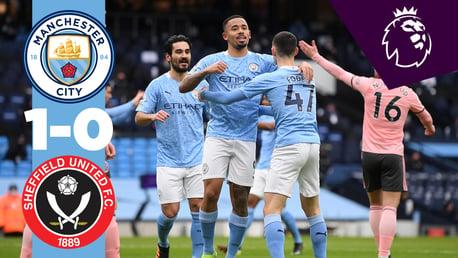 Tous les temps forts: City 1-0 Sheffield United