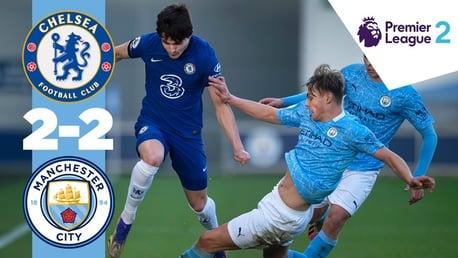 Chelsea 2-2 EDS: Cuplikan Pertandingan