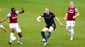 Brief highlights: West Ham 0-1 City