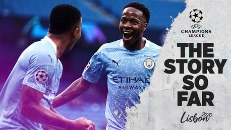 맨체스터 시티의 2019/20 챔피언스리그 지금까지의 이야기…