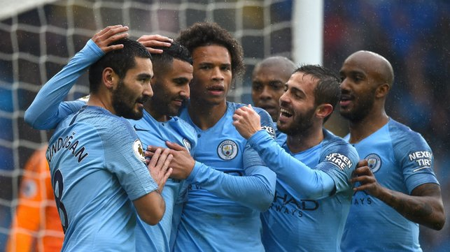 THAT'S MORE LIKE IT : City celebrate
