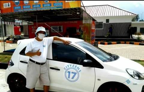 MOBIL CITYZENS : Melakukan perjalanan dengan mobil yang penuh dengan Sticker City