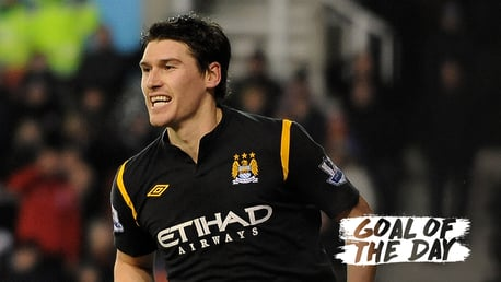 GOAL OF THE DAY: Gareth Barry v Stoke