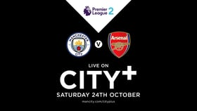 24 October: Watch City EDS v Arsenal in the PL2 LIVE