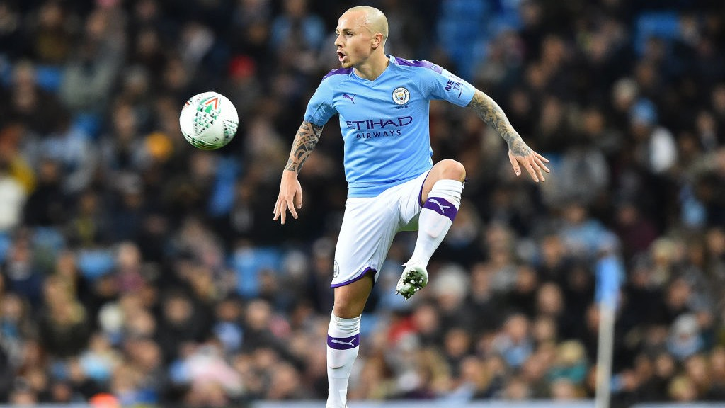 ANGELINO : A lively presence down the left flank_