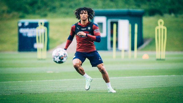 DUTCH COURAGE: Nathan Ake keeps his eyes on the prize