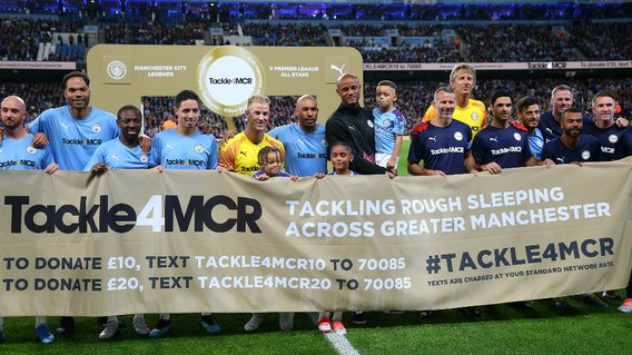 A GREAT CAUSE: All proceeds from tonight's Testimonial will go to Tackle4MCR