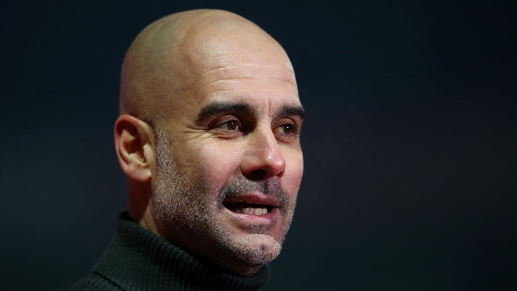 Guardiola pleased with City's reaction against Cheltenham