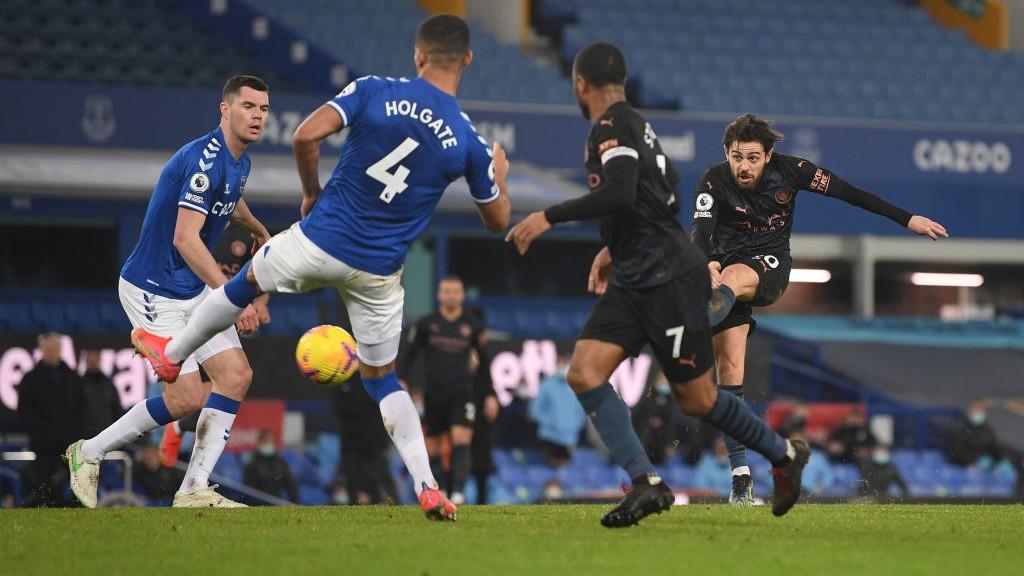 JUGADOR DEL PARTIDO. : Un gol y una asistencia para Bernardo Silva contra el Everton.