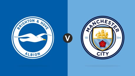 Brighton 3-2 City: Live reaction and stats