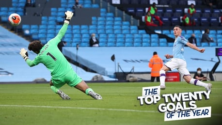 Watch City's 20 best goals of 2020