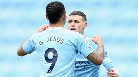 Foden closing in on Jesus's landmark City tally