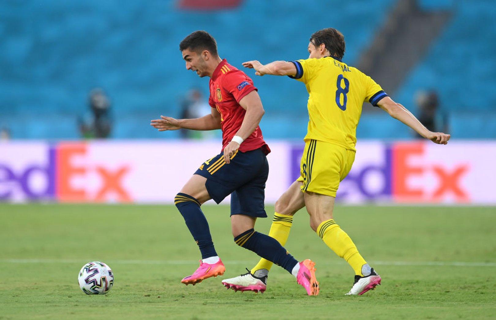 스페인 vs 스웨덴전에서 아쉬운 결과를 가진 CITY 선수들
