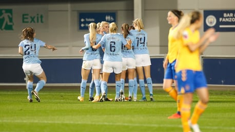 Lavelle opens City account in Conti Cup comeback