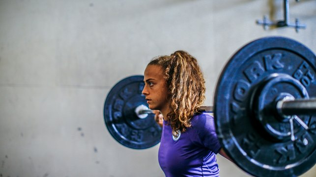 WEIGHT-ING TIME : Grounded and humble, Fidalgo is remaining patient for her time to shine