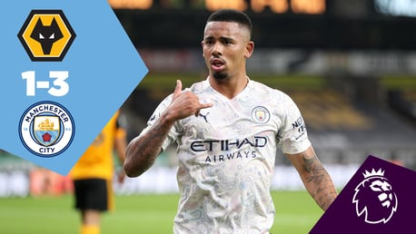 Wolves 1-3 City: Full-match replay