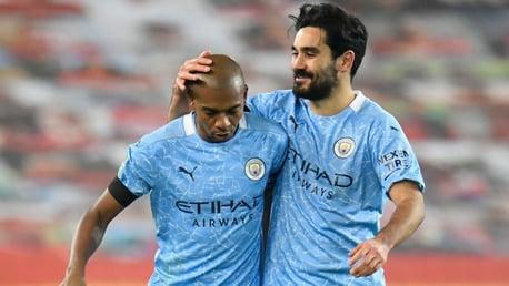 Gundogan praises Fernandinho's impact on and off the pitch
