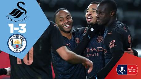 Swansea 1-3 City: Full-match replay