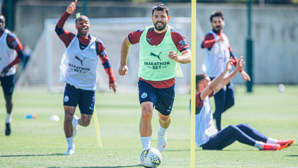 Training: Spurred on for Carabao Cup showdown