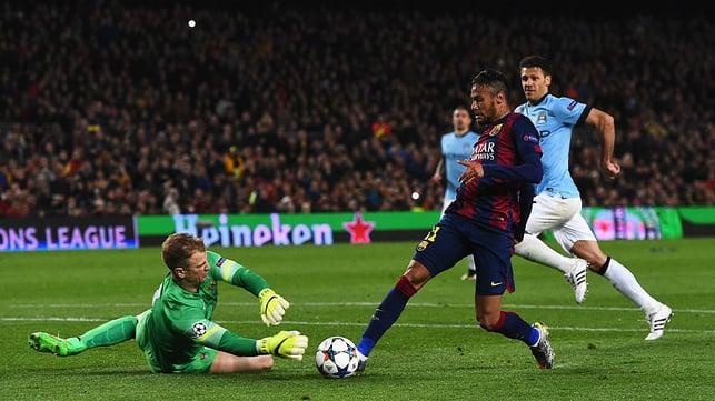NOU CAMP : A fantastic effort against Barcelona back in 2015.
