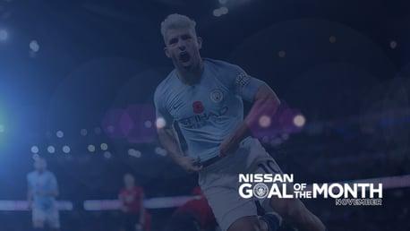 Votez pour le but du mois Nissan !