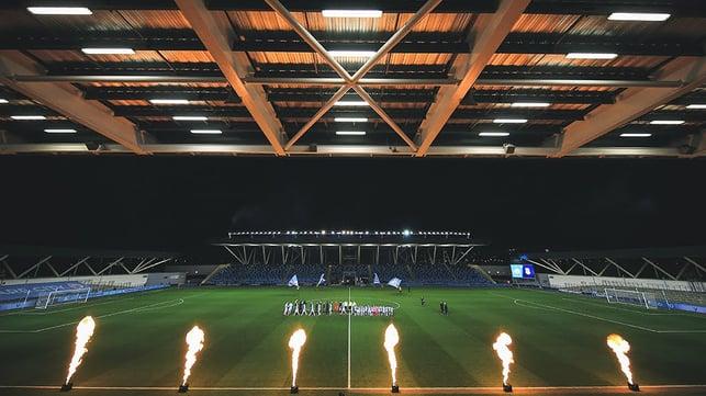 NIGHT UNDER THE LIGHTS : The Academy Stadium awaits...