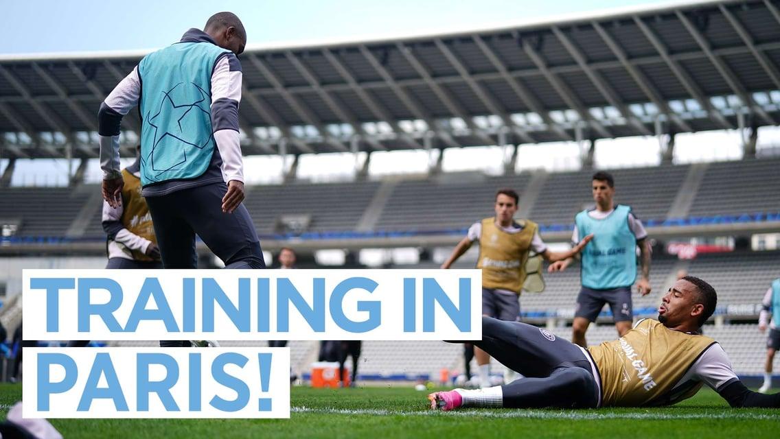 Nosso treinamento em Paris para pegar o Palace