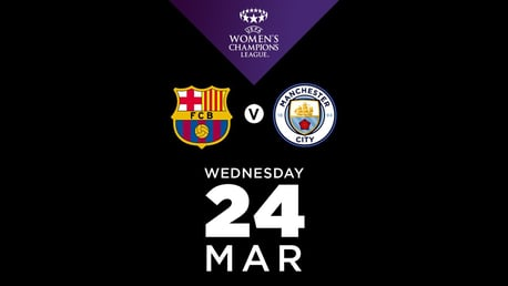 Watch Barcelona v City live on CITY+