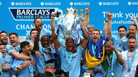 On this day: City crowned 2014 Premier League champions