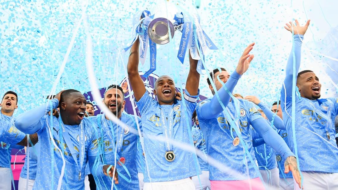 City iniciará a defesa do título da Premier League contra os Spurs