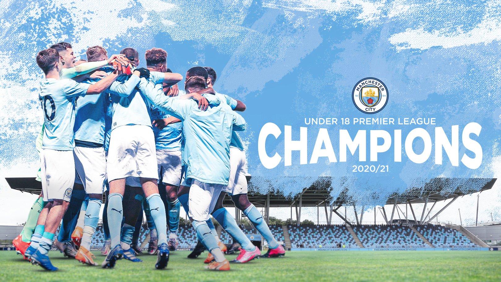 City crowned Under-18 Premier League National champions
