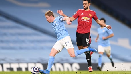De Bruyne rues missed derby chances