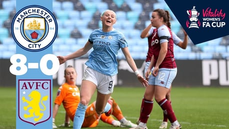 City 8-0 Aston Villa: Match highlights