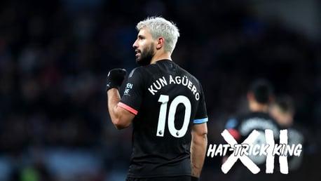 Sergio Agüero: Rey del hat-trick